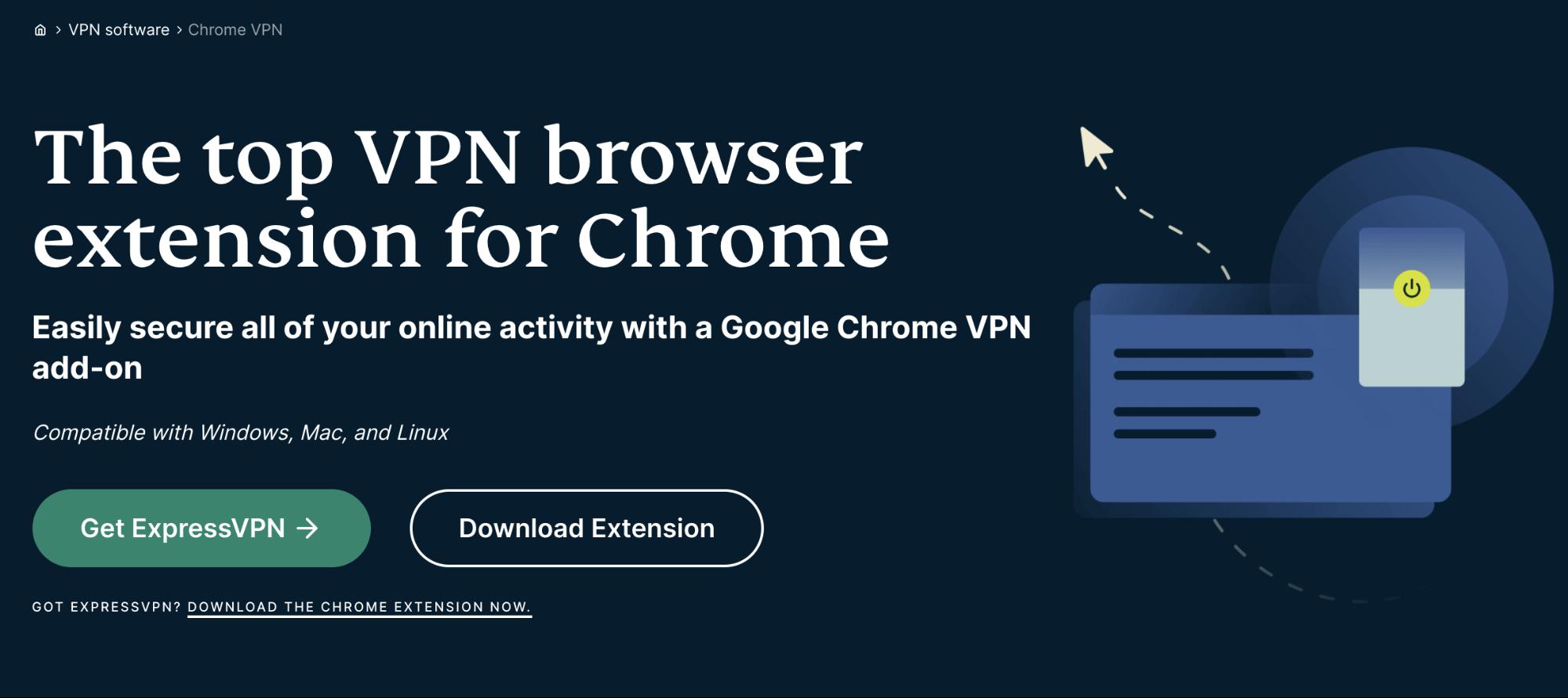 ExpressVPN Chrome VPN extension
